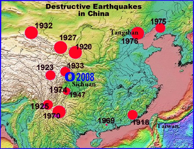 THE EARTHQUAKE OF MAY 12, 2008 IN THE SICHUAN PROVINCE OF CHINA = DR