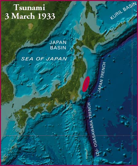 japan 1933 sanriku tusnami