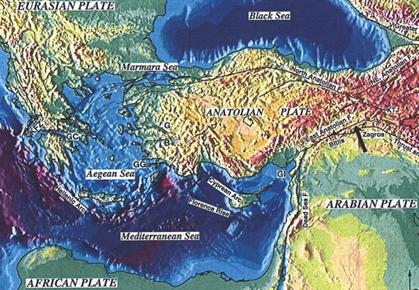 The Potential for Tsunami Generation in the Eastern Mediterranean ...